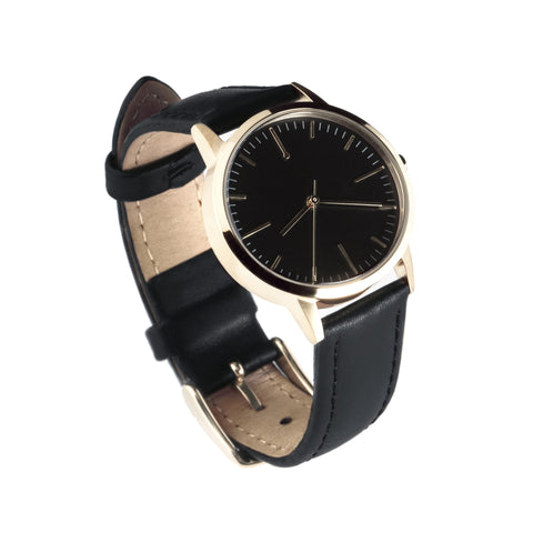 30 Edition - Gold & Black Ladies Watch, Freedom To Exist