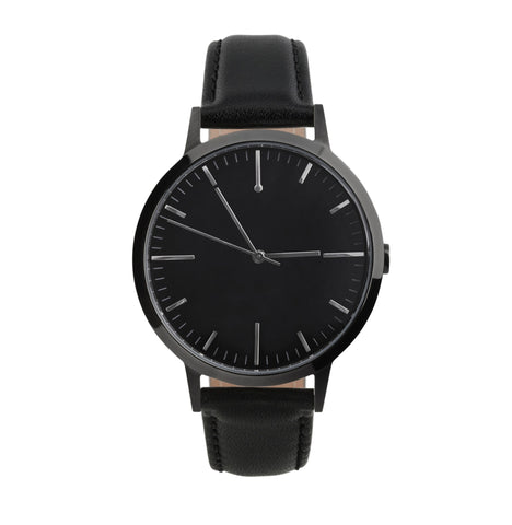 40 Edition –Gunmetal & Black Mens Watch, Freedom To Exist - CultureLabel - 1