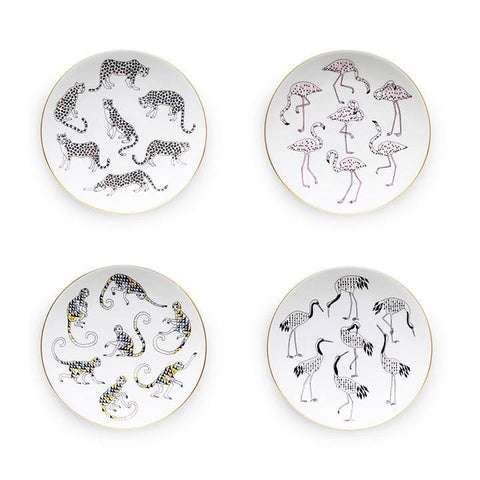 The Tropique Collection Set of 4, Mira Santo