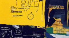Untitled (Solar), Jean-Michel Basquiat Alternate View