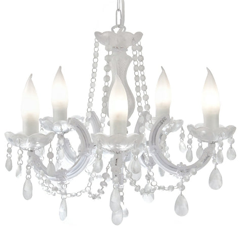 ICE QUEEN Outdoor LED garden chandelier, Mineheart