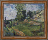 The Quarries of Le Chou Near Pontoise by Paul Gauguin 3d Reproduction, Verus Art - CultureLabel - 4