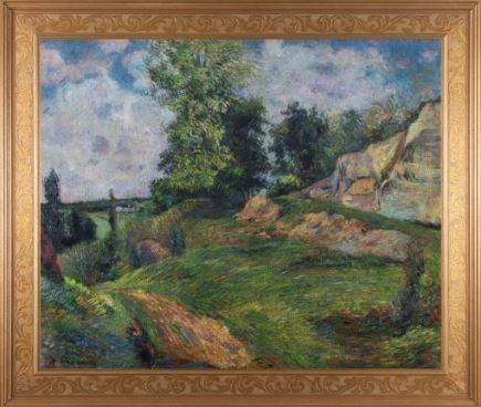 The Quarries of Le Chou Near Pontoise by Paul Gauguin 3d Reproduction, Versus Art