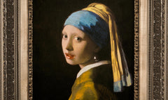 Girl With The Pearl Earring by Johannes Vermeer, Verus Art Alternate View