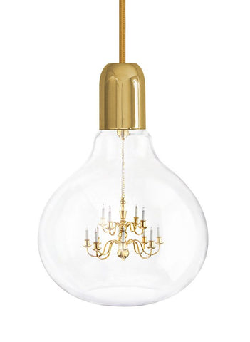 Gold King Edison Pendant Lamp