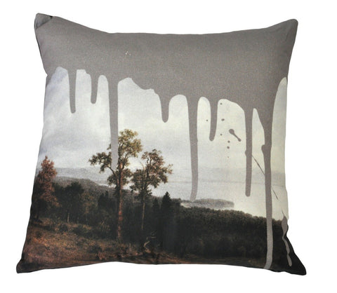 Artistic Cushion Grey