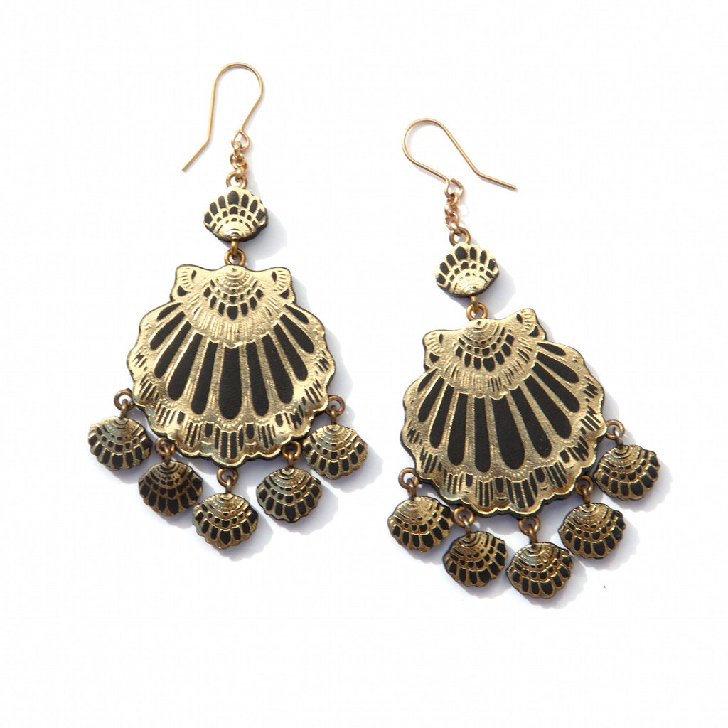 Gypsy Siren Chandelier Earrings, Rosita Bonita - CultureLabel - 1