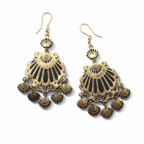 Gypsy Siren Chandelier Earrings, Rosita Bonita - CultureLabel