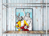 Statue of Liberty NYC with love Dogman and Rabbitgirl, Gillie and Marc - CultureLabel - 2