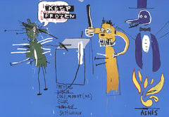 The Dingoes that Park Their Brain with Their Gum, Jean-Michel Basquiat Alternate View