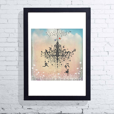 Hang On (Framed), East End Prints - CultureLabel