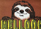 Hellooo Sloth Welcome Doormat, Jimbobart - CultureLabel - 2