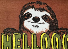 Hellooo Sloth Welcome Doormat, Jimbobart Alternate View