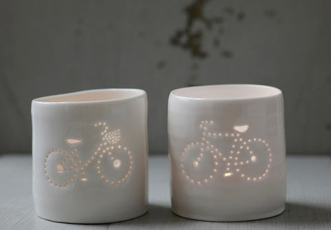 His & Her Bikes, Luna Lighting - CultureLabel