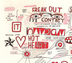 Hot Heart, David Shillinglaw Alternate View