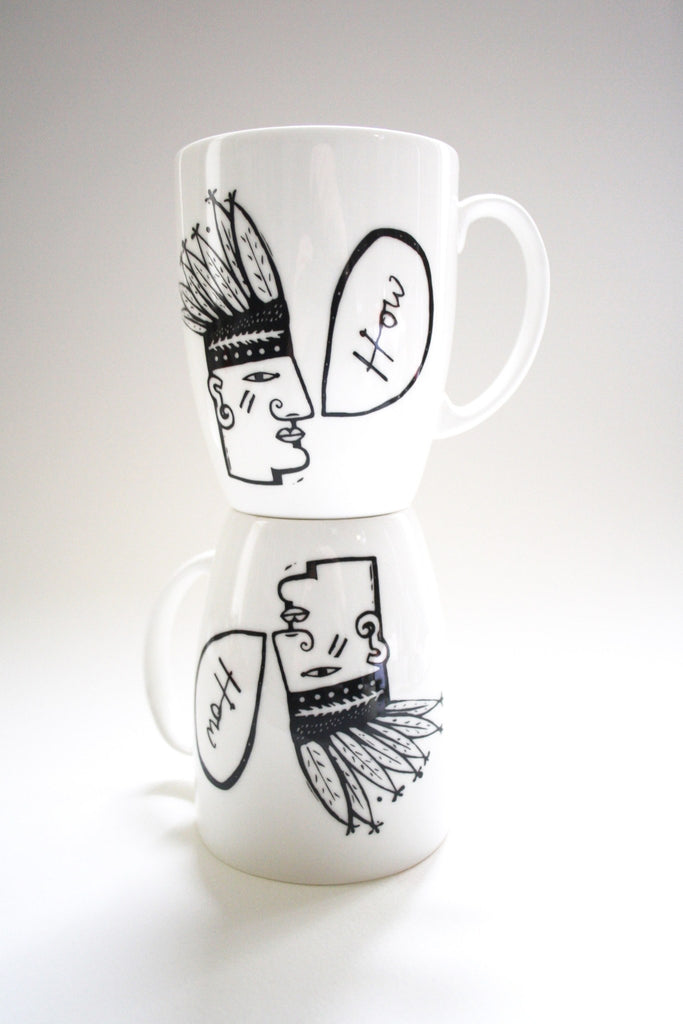 How Mugs Set, Janet Milner - CultureLabel