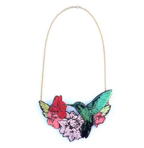Hummingbird Necklace, Rosita Bonita - CultureLabel - 1