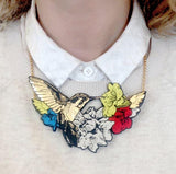 Hummingbird Necklace, Rosita Bonita - CultureLabel - 2