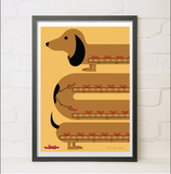 Sausage Dog, Needle Design