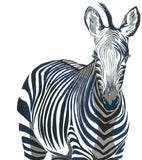Zeal of Zebras, Chloe Croft - CultureLabel - 2 (detail- close up single zebra)