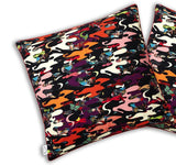 Ink Camo Silk Cushion Cover, Kristjana S Williams - CultureLabel - 2