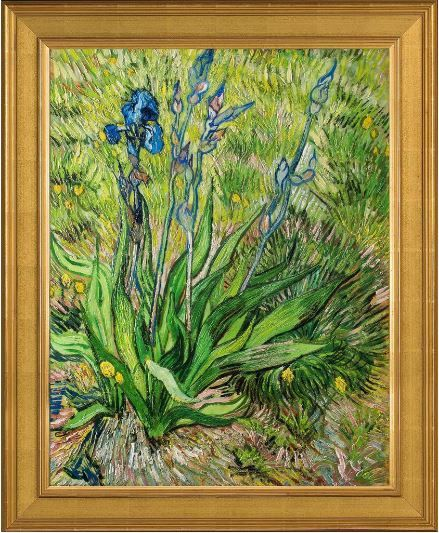Iris by Vincent Van Gogh 3d Reproduction, Versus Art - CultureLabel - 1