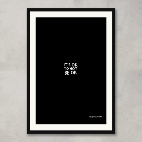 It's OK To Not Be OK, David Shillinglaw x Mind