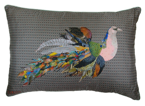 Jackdaw Boudoir Cushion, Little Wolf