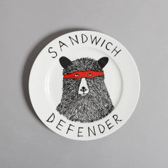 The Sandwich Defender Side Plate, Jimbobart