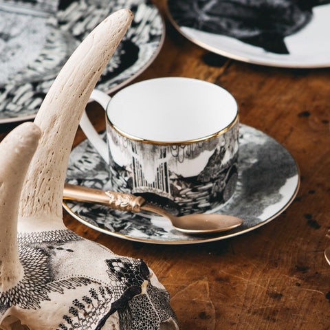 Neverland Teacup and Saucer, Abi Overland Jersey - CultureLabel