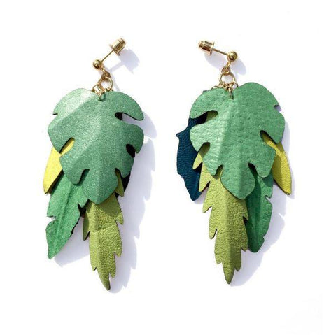 Jungle Earrings, Rosita Bonita - CultureLabel - 1