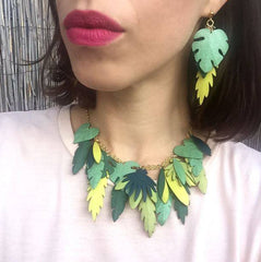 Jungle Earrings, Rosita Bonita Alternate View