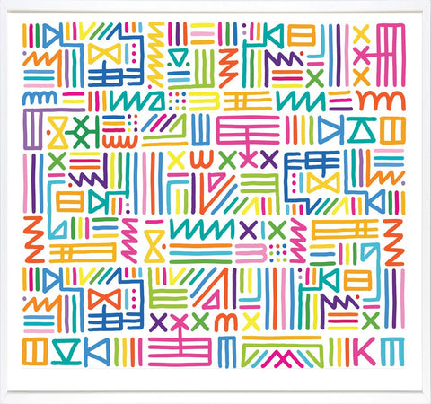 Multicolour Tribal, Kate Moross - CultureLabel - 1