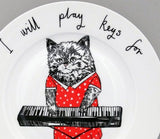Keys For Cheese Side Plate, Jimbobart - CultureLabel - 2