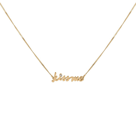 Positive Vibes Gold Necklace, Lee Renée - CultureLabel - 1