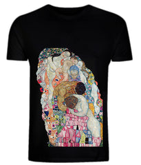 Gustav Klimt: Death and Life (detail) T-Shirt