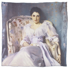 Lady Agnew of Lochnaw John Singer Sargent Square Silk Scarf Alternate View