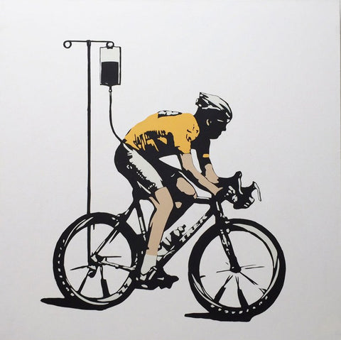 No More Heroes - Lance Armstrong - Canvas, Plastic Jesus - CultureLabel - 1