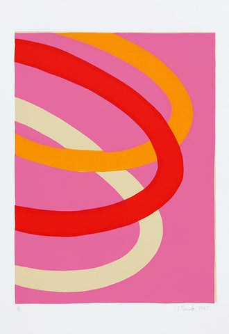 Loops On Pink, Ian Scaife