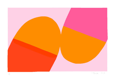 Pinks and Oranges, Ian Scaife