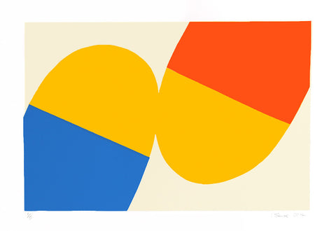 Yellow Blue Orange, Ian Scaife - CultureLabel