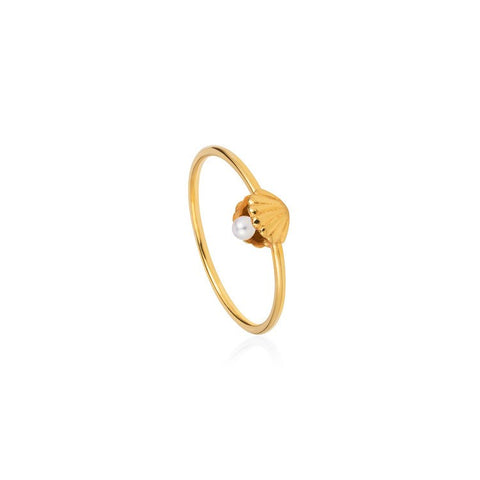 Shell & Pearl Ring, Lee Renée - CultureLabel