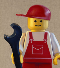 LEGO Handy Man, Joe Simpson Alternate View