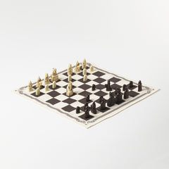 Lewis Chess and Draughts Games Set, National Museum of Scotland Alternate View