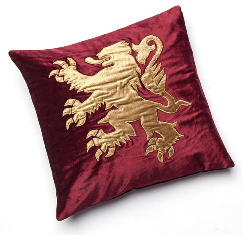 Velvet Cushion with Lion Rampant, National Museum of Scotland