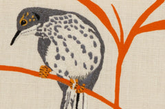 Cuckoo - Embroidered Picture, Fine Cell Work Alternate View