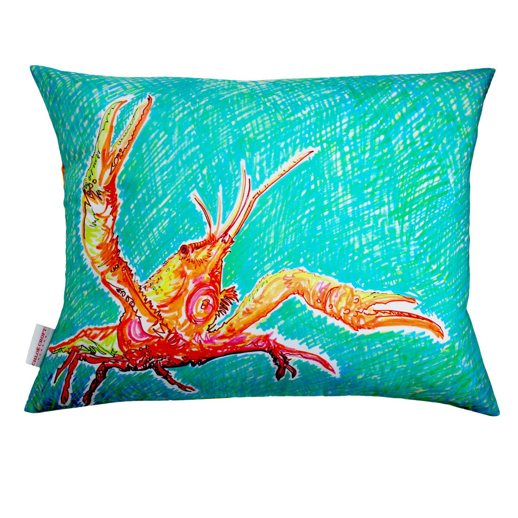 Lucky Lobster Cushion, Chloe Croft - CultureLabel