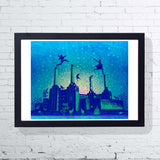 London By Night (Framed), East End Prints - CultureLabel - 1