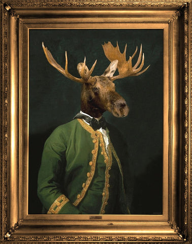 'Lord Montague' Stretched Printed Canvas, Mineheart - CultureLabel - 1