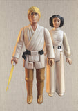 Luke Skywalker and Leia, Joe Simpson